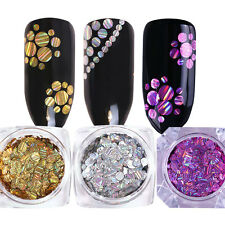 3boxes BORN PRETTY Mix Laser Round Nail Sequins Holographic Holo Glitter