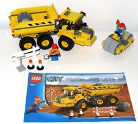 Lego City 7631 Dump Truck-Instrutions & City Road Roller 30003 no Instrutions