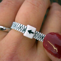 UK Ring Sizer Measure Finger Gauge For Wedding Ring Band Engagement Ring New