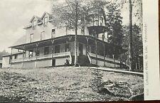 Adirondack RPPC Cohasset Hotel, Fourth Lake, Fulton Chain New York