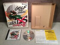 Links LS Extreme PC Game Big Box Complete 1999 Microsoft Windows 95/98