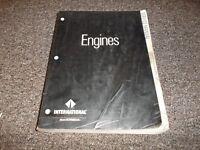 1995-2000 International DT466E 530E Engines Service Repair Manual 1997 1998 1999