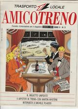 MARTIN MYSTERE - AMICO TRENO CON MARTIN MYSTERE IN COPERTINA OTTIMO
