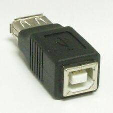 USB A type Female to USB B type Female Adapter Converter Gender Changer
