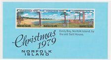 (K30-41) 1979 Christmas Island Christmas M/S MUH