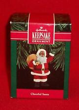 Hallmark Cheerful Santa Claus Black African American Ornament