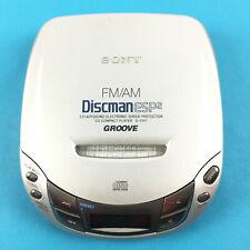 Sony D-F411 Radio FM/AM Walkman CD Baladeur Lecteur Portable Disque Discman
