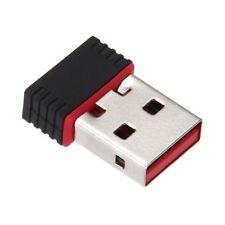 Mini Cle USB Wifi Adaptateur LAN 802.11 n/g/b Carte Reseau Sans Fil 150Mbps K7J2