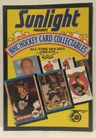 Vintage 1992 Sunlight NHL Hockey Card Collectables Book
