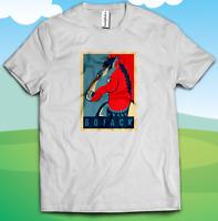 Bojack TV Series Horseman Head T-shirt - Men's Women's Kid's Unisex Fan T-shirt