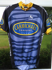 Giordana Carmichael 3/4 Zip Bike Cycling Jersey Eur 46 Size Small Made in Italy