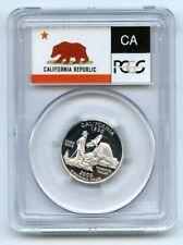 2005 S 25C Silver California Quarter PCGS PR70DCAM