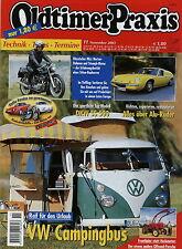 1 Oldtimer Praxis 2003 11/03 Lotus Europa Opel Ascona VW Bus T1 Westfalia Horex