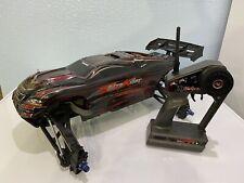 traxxas e-revo slider / roller chassis body transmitter