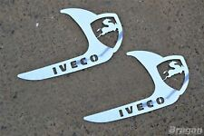 To Fit Iveco Stralis Truck Stainless Steel Door Handle Trim Cover
