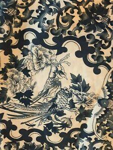 "Ralph Lauren Tamarind Porcelain Blue White TWIN 63""x88"" Duvet Comforter Cover"