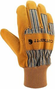 Carhartt Men's Suede Work Glove with Knit Cuff