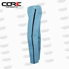 Civil War sky blue cavalry Wool Pants with 0.5 inch trim- All Sizes Available