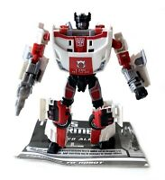 Red Alert Transformers Generations Action Figure 100% Complete Instructions 2010