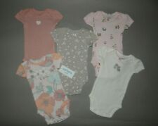 NWT, Baby girl clothes, Preemie, Carter's bodysuits/ **SEE DETAILS ON SIZE**