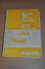Werkstatthandbuch MAZDA 323 DOHC Dieselmotor Ergänzung 1986 Allradantrieb
