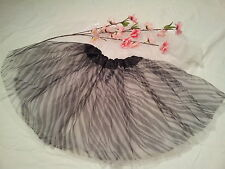 beautiful girls Zebra Print with Hot Pink Layer ballet tutu fairy skirt dress up