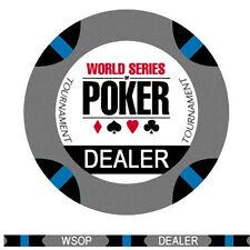 Dealer button ceramica WSOP World series of poker