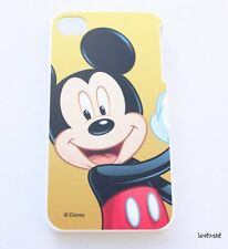 iPhone 4 4G 4S - HARD PROTECTOR CASE COVER PLATE Disney Mickey Mouse Red Black