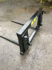 More details for bale spike twin tine (euro 8 standard headstock) brand new with free delivery