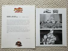 Vintage Photo 1990 Disney Ducktales The Movie Treasure of the Lost Lamp + notes