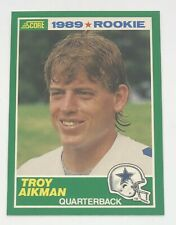 1989 Score Troy Aikman RC Rookie Card #270