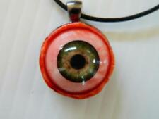 Halloween Horror Prop -  EYEBALL Pendant for costume or cos play! (Gray)
