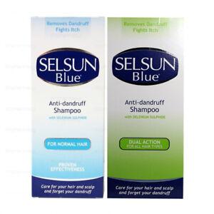 Selsun Blue Anti-Dandruff Shampoo Dual Action  For Normal & All Hair Types 200ml