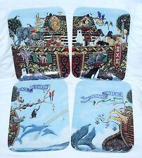 Tom Neel Bradford Exchange Noah's Ark Proof Plate Series - Set of 4