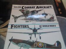 "St Michael 1985 "" COMBAT AIRCRAFT & FIGHTERS XL Size Approx 60 Photos + Bio's"