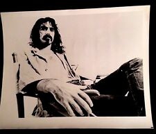 1977 FRANK ZAPPA GENUINE GLOSSY 8X10 INCHES PHOTO MOTHERS OF INVENTION BEEFHEART