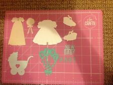 Die Cut Baby Bundle Cardmaking Craft Scrapbook