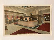 The Lounge, Hotel Bristol, New York City, NY Postcard