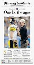 2006 - PITTSBURGH STEELERS - Headline Super Bowl Championship Poster !!