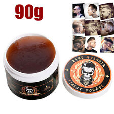 Men Hair Styling Oil Wax Hair Gel Retro Modeling Bright Strong Hold Pomade Hot
