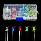 200pcs 3mm LED Bulb Light Assorted Kit Red Green Blue Yellow White DIY LEDs Set