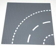 LEGO DARK BLUISH GREY ROAD CURVED BASEPLATE 32 X 32 PLATE PLATFORM PIECE
