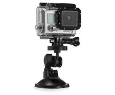 Suction Mount Bracket for GoPro Compatible Action Cam GoPro Compatible Cameras