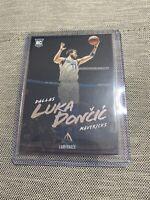2018-19 Panini Chronicles Luka Doncic Luminance Rookie Card #166 RC