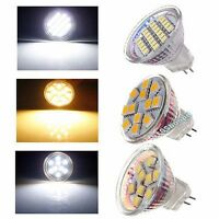 MR11 LED Spotlight Pure/Warm White 9/12/24 SMD Bulb Lamp AC/DC 12V G4 Light