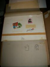 Woody Woodpecker & Glad Cat Original Art