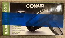 Conair 124TR Travel Folding Hair Dryer 1875 Watt – Black Compact Lightweight