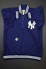Mitchell & Ness New York Yankees MLB Half Zip Track Jacket Size 4XL