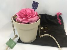 Kate Spade Spring Forward Flower Pot Purse Flowerpot Crossbody Clutch Bag