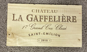 Chateau La Gaffeliere Grand Cru Bordeaux Wood Wine Panel